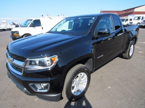 Black 2016 Chevrolet Colorado LT Extended Cab