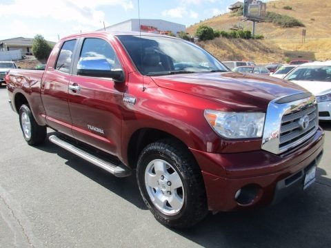 Salsa Red Pearl 2007 Toyota Tundra Limited Double Cab