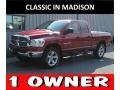 Dodge Ram 1500 SLT Quad Cab 4x4 Inferno Red Crystal Pearl photo #1