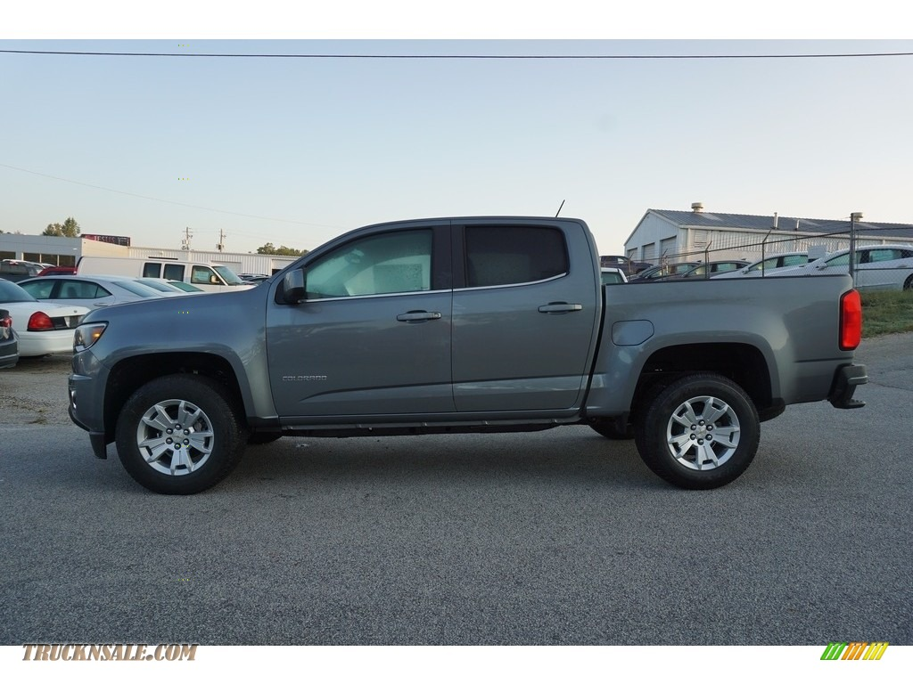 2018 Colorado LT Crew Cab - Satin Steel Metallic / Jet Black photo #4