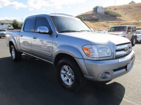 Silver Sky Metallic 2006 Toyota Tundra SR5 Double Cab