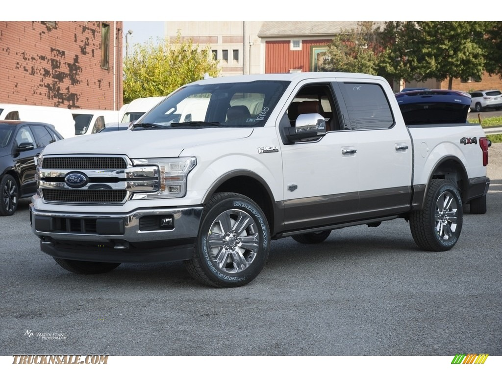 Butler Auto Sales >> 2018 Ford F150 King Ranch SuperCrew 4x4 in White Platinum - A59477 | Truck N' Sale