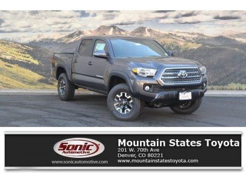 Magnetic Gray Metallic 2017 Toyota Tacoma TRD Off Road Double Cab 4x4