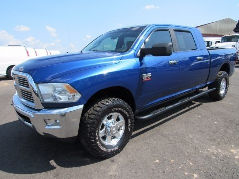 Deep Water Blue Pearl 2011 Dodge Ram 2500 HD SLT Mega Cab 4x4