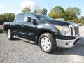 Nissan Titan SV Crew Cab 4x4 Magnetic Black photo #1