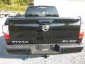 Nissan Titan SV Crew Cab 4x4 Magnetic Black photo #5