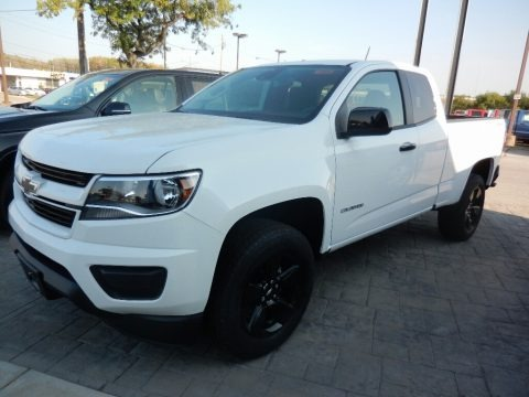 Summit White 2018 Chevrolet Colorado LT Extended Cab 4x4