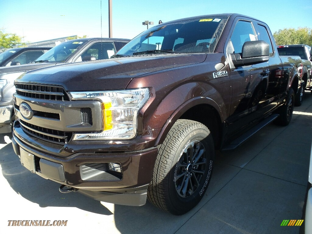 2018 Ford F150 Xlt Supercab 4x4 In Magma Red A77688