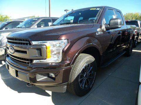 ford  xlt supercab   bronze fire metallic  truck  sale