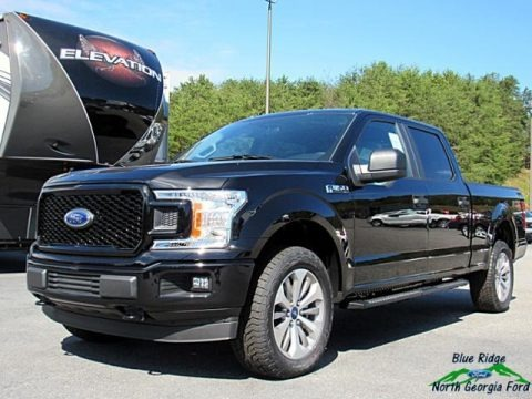 Shadow Black 2018 Ford F150 STX SuperCrew 4x4