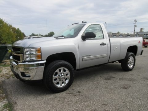 Silver Ice Metallic 2013 Chevrolet Silverado 2500HD LT Regular Cab 4x4