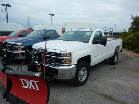 Summit White 2017 Chevrolet Silverado 2500HD Work Truck Regular Cab 4x4