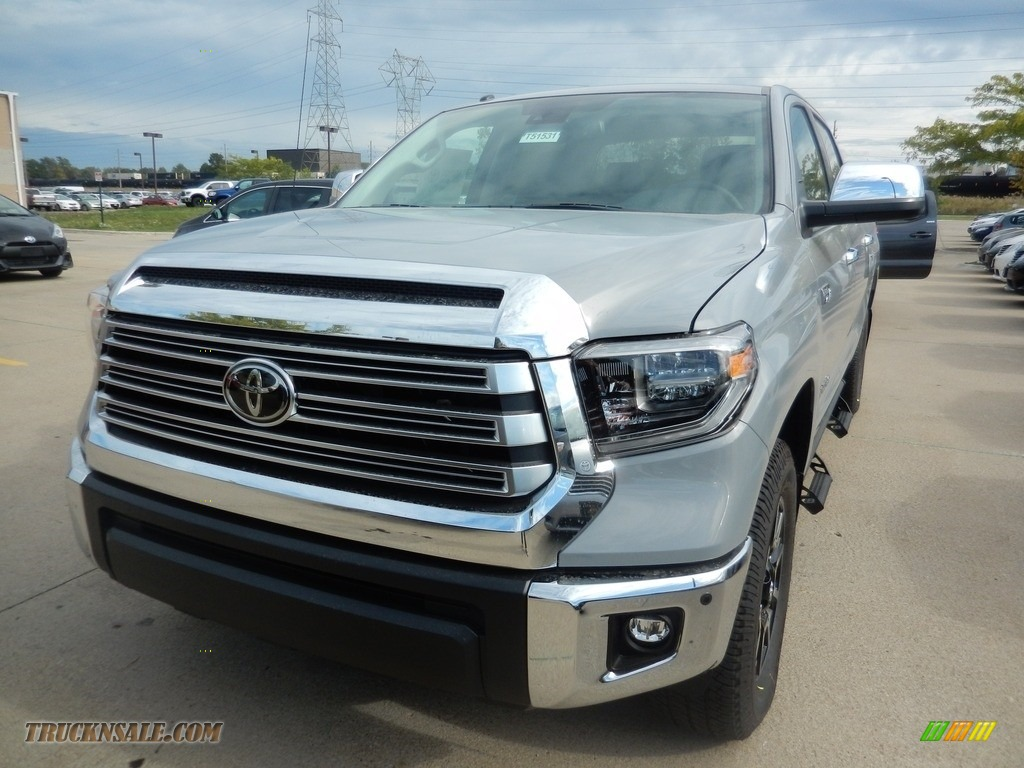2018 Tundra Limited CrewMax 4x4 - Cement / Black photo #1