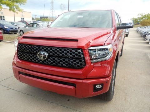 Barcelona Red Metallic 2018 Toyota Tundra Platinum CrewMax 4x4