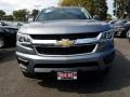 Chevrolet Colorado WT Crew Cab Satin Steel Metallic photo #2