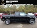 Ford F150 XL SuperCab 4x4 Shadow Black photo #1