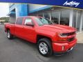 Chevrolet Silverado 1500 LT Crew Cab 4x4 Red Hot photo #1