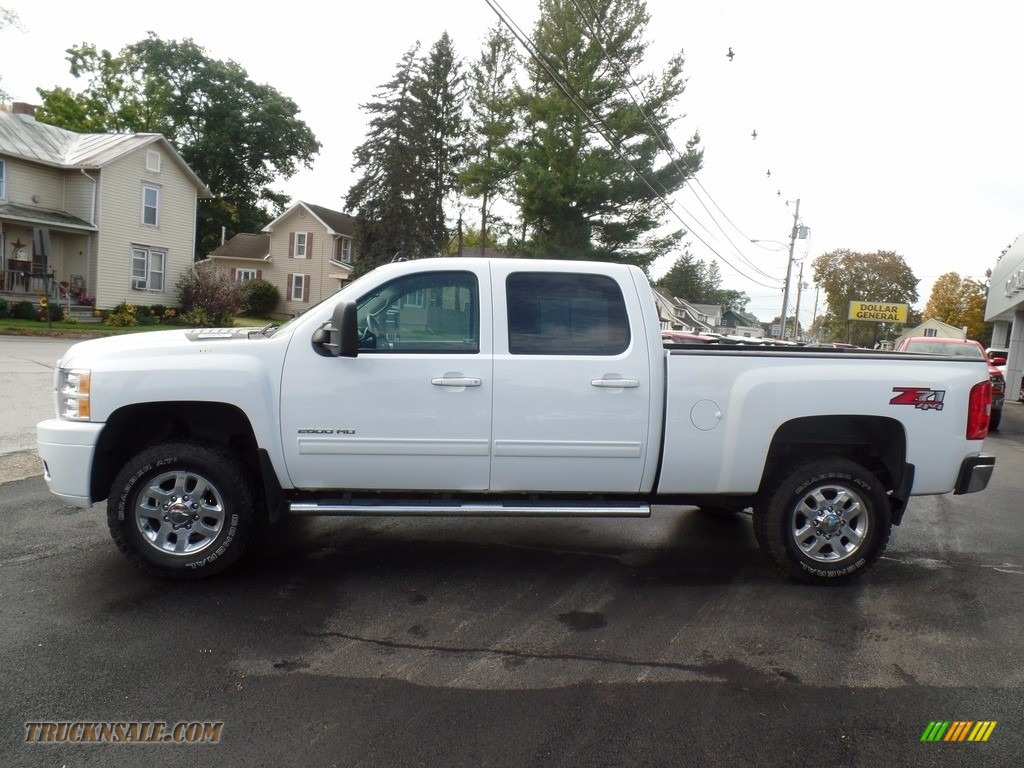 2013 Silverado 2500HD LT Crew Cab 4x4 - Summit White / Ebony photo #1