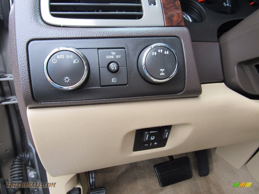 2013 Sierra 3500HD Denali Crew Cab 4x4 Dually - Steel Gray Metallic / Cocoa/Light Cashmere photo #16