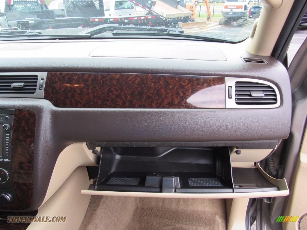 2013 Sierra 3500HD Denali Crew Cab 4x4 Dually - Steel Gray Metallic / Cocoa/Light Cashmere photo #42
