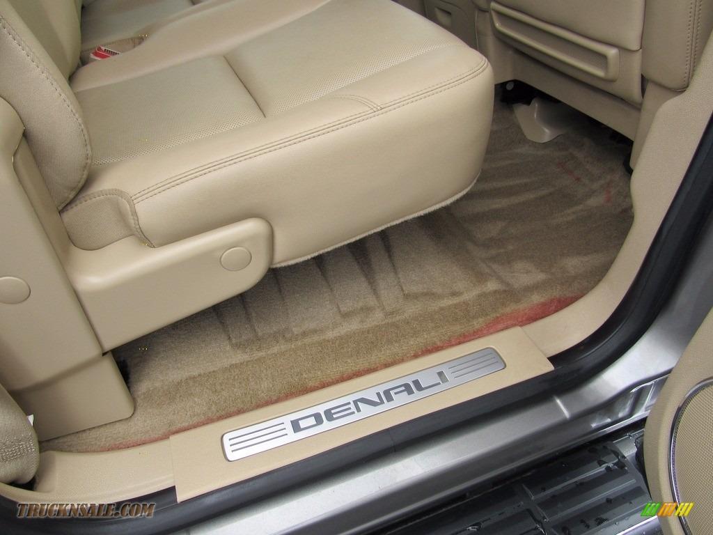 2013 Sierra 3500HD Denali Crew Cab 4x4 Dually - Steel Gray Metallic / Cocoa/Light Cashmere photo #47