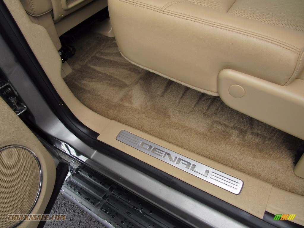 2013 Sierra 3500HD Denali Crew Cab 4x4 Dually - Steel Gray Metallic / Cocoa/Light Cashmere photo #56
