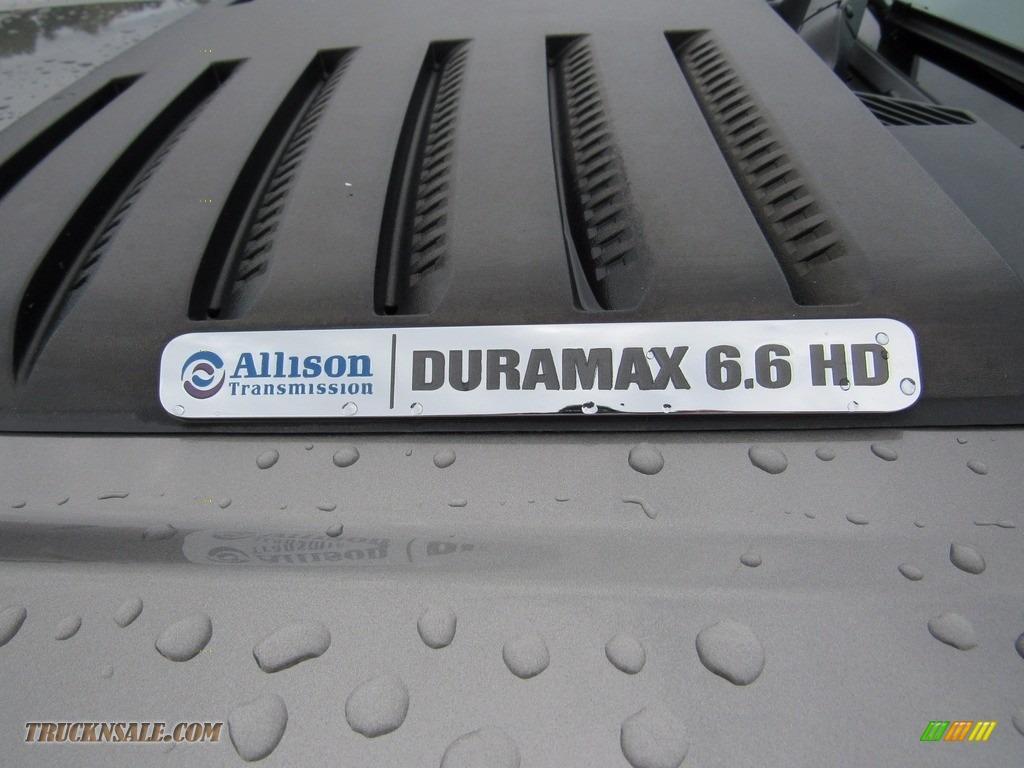 2013 Sierra 3500HD Denali Crew Cab 4x4 Dually - Steel Gray Metallic / Cocoa/Light Cashmere photo #64