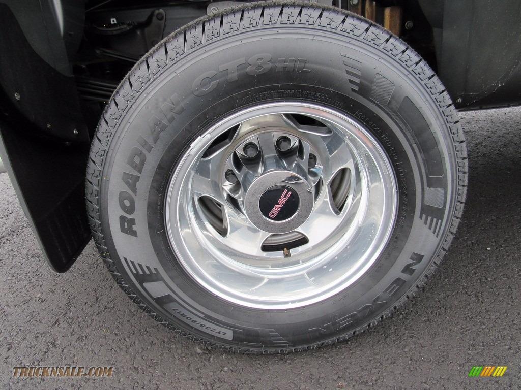 2013 Sierra 3500HD Denali Crew Cab 4x4 Dually - Steel Gray Metallic / Cocoa/Light Cashmere photo #80