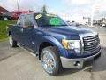 Ford F150 XLT SuperCab 4x4 Blue Flame Metallic photo #7