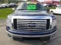 Ford F150 XLT SuperCab 4x4 Blue Flame Metallic photo #8