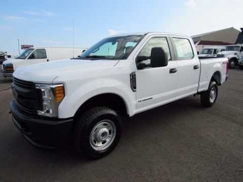 Oxford White 2017 Ford F250 Super Duty XL Crew Cab 4x4