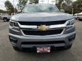 Chevrolet Colorado WT Crew Cab 4x4 Satin Steel Metallic photo #2