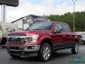Ford F150 XLT SuperCrew 4x4 Ruby Red photo #1
