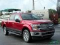 Ford F150 XLT SuperCrew 4x4 Ruby Red photo #7