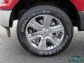 Ford F150 XLT SuperCrew 4x4 Ruby Red photo #9