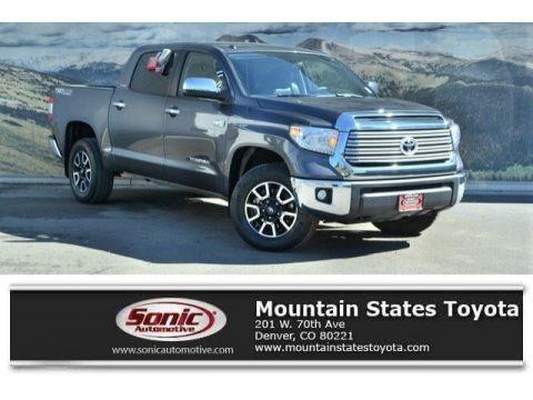 Magnetic Gray Metallic 2016 Toyota Tundra Limited CrewMax 4x4