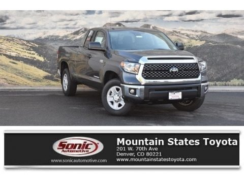 Magnetic Gray Metallic 2018 Toyota Tundra SR5 Double Cab 4x4
