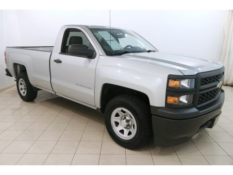 Silver Ice Metallic 2014 Chevrolet Silverado 1500 WT Regular Cab