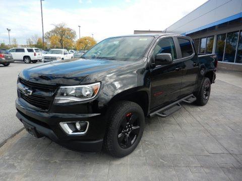 Black 2018 Chevrolet Colorado LT Crew Cab 4x4