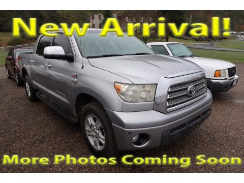 Silver Sky Metallic 2007 Toyota Tundra Limited CrewMax