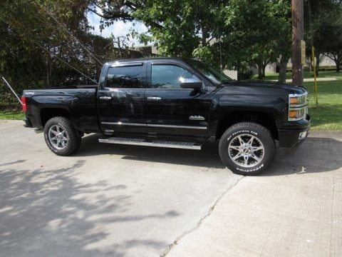 Black 2014 Chevrolet Silverado 1500 High Country Crew Cab 4x4