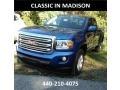 GMC Canyon SLE Extended Cab 4x4 Marine Blue Metallic photo #1