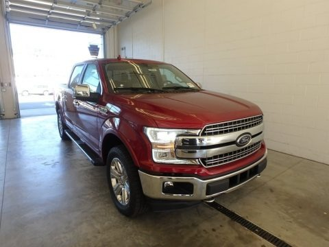 Ruby Red 2018 Ford F150 Lariat SuperCab 4x4