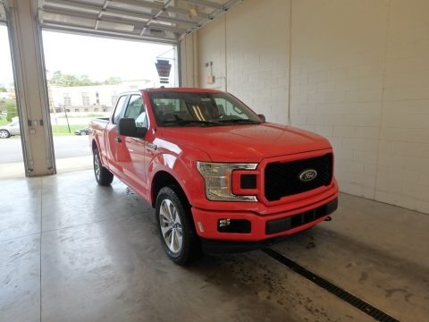 Race Red 2018 Ford F150 STX SuperCab 4x4