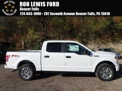Oxford White 2018 Ford F150 STX SuperCrew 4x4