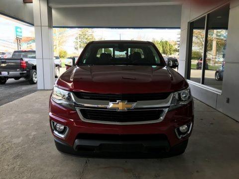 Cajun Red Tintcoat 2018 Chevrolet Colorado LT Extended Cab