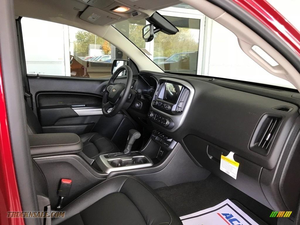 2018 Colorado LT Extended Cab - Cajun Red Tintcoat / Jet Black photo #4