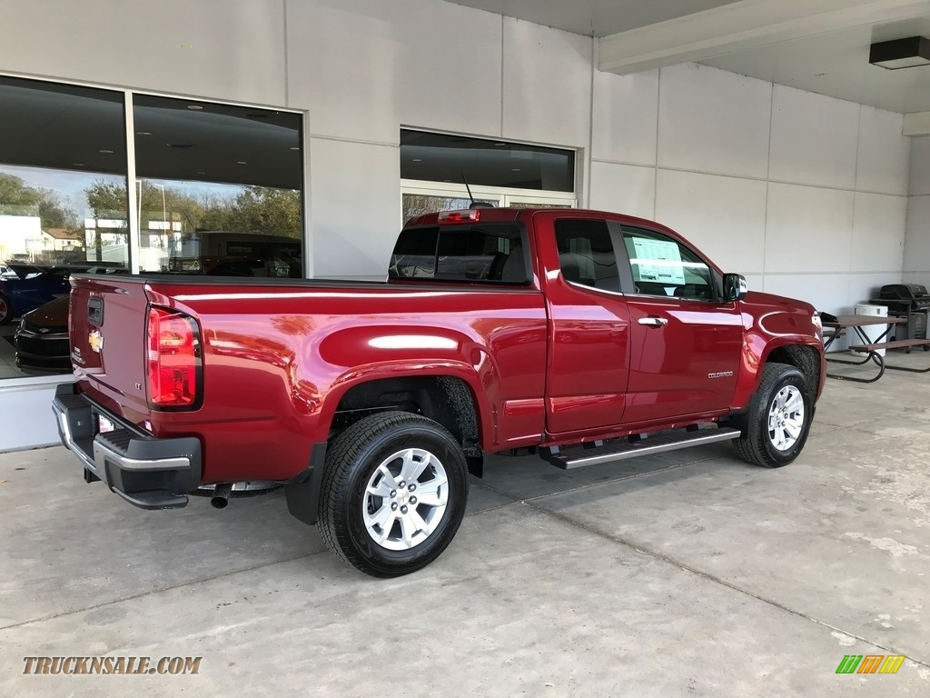 2018 Colorado LT Extended Cab - Cajun Red Tintcoat / Jet Black photo #5