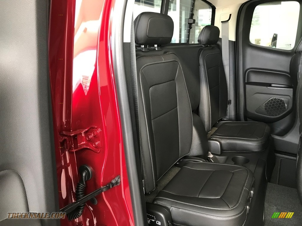 2018 Colorado LT Extended Cab - Cajun Red Tintcoat / Jet Black photo #7