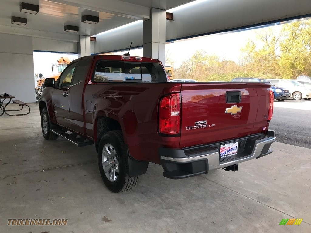 2018 Colorado LT Extended Cab - Cajun Red Tintcoat / Jet Black photo #12